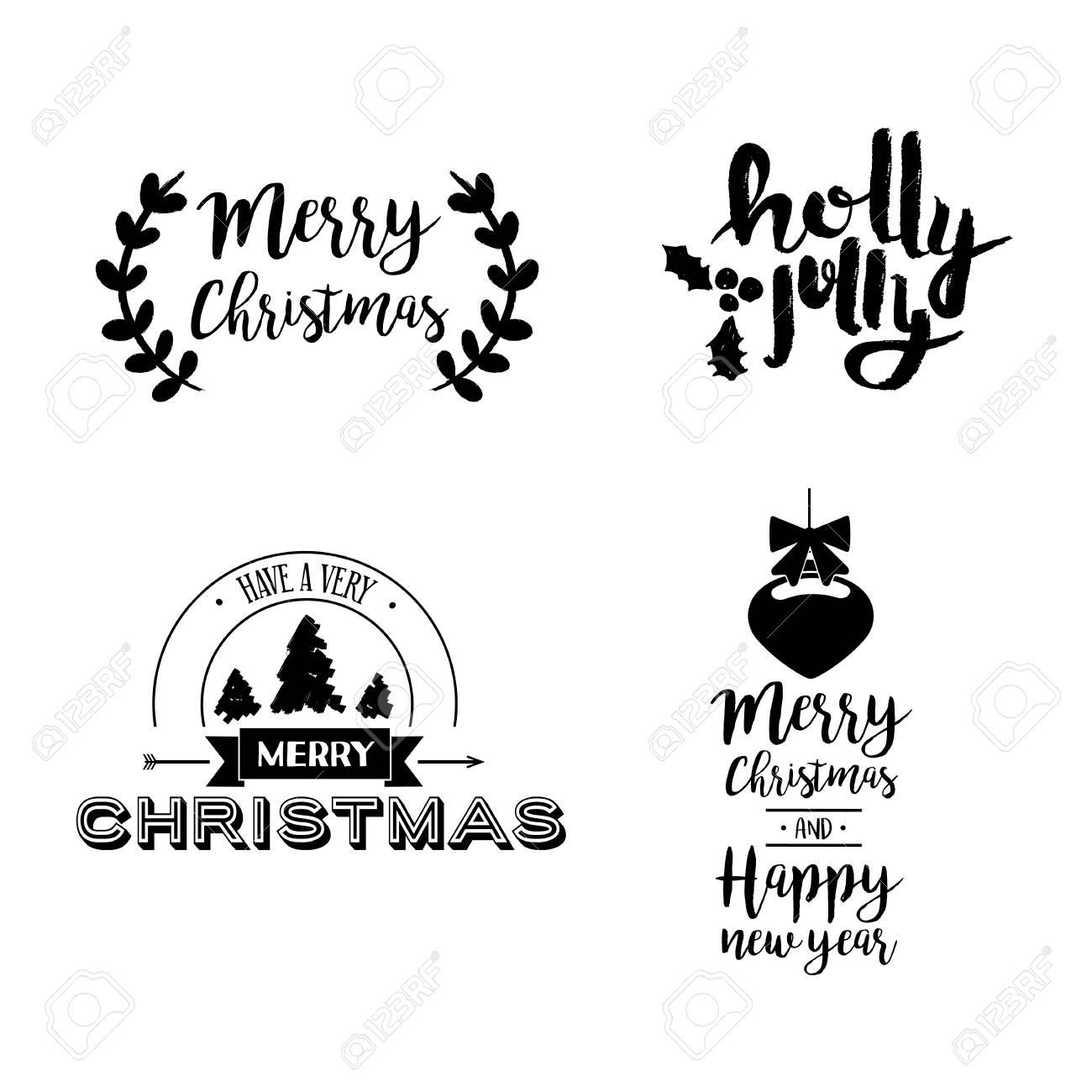 Weihnachten Bilder Mit Text.Stock Photo