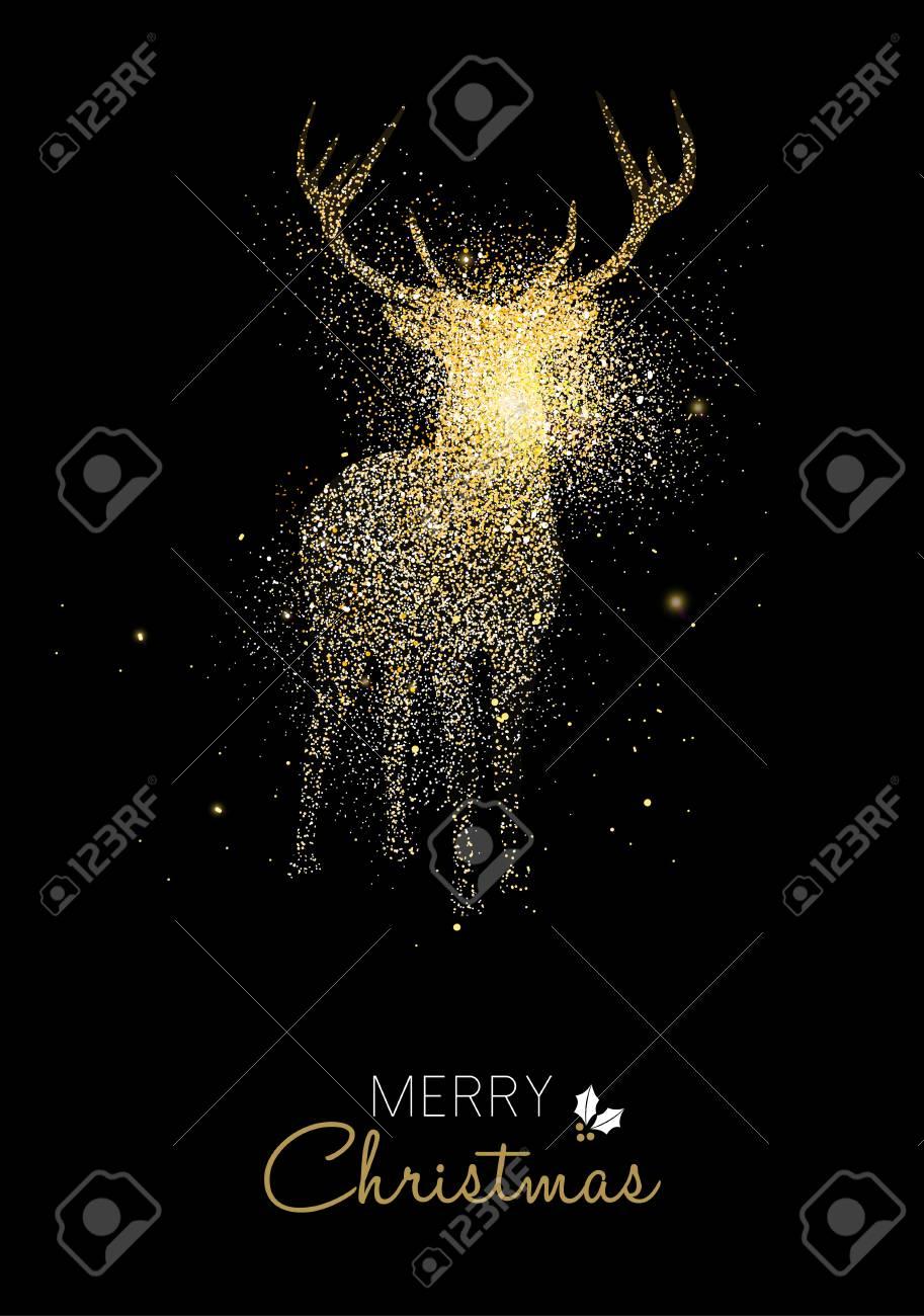 Frohe Weihnachten Glitzer.Stock Photo