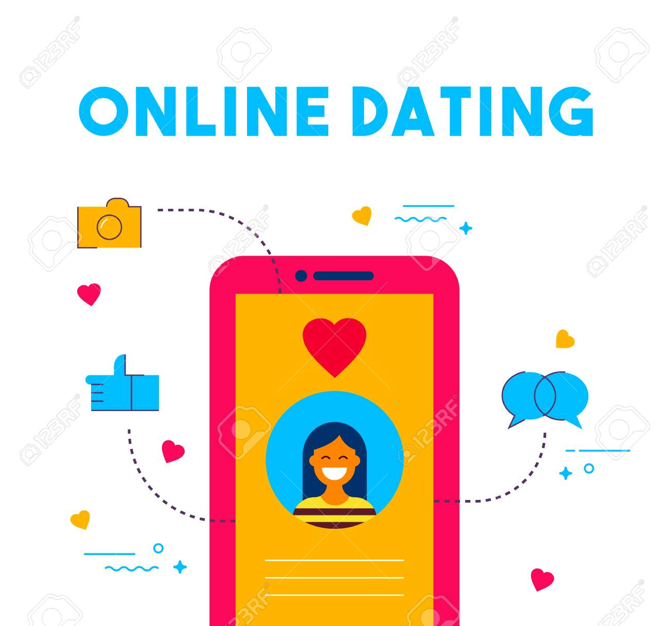 how to text a girl online dating