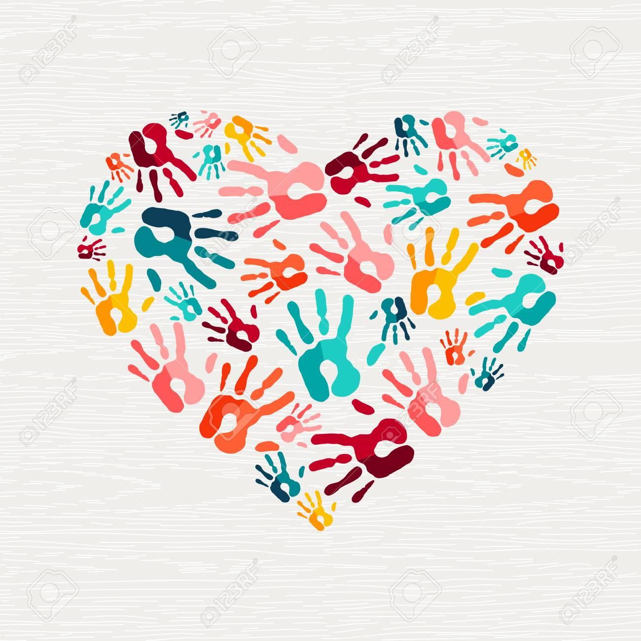 Heart Handprint Craft for Kids