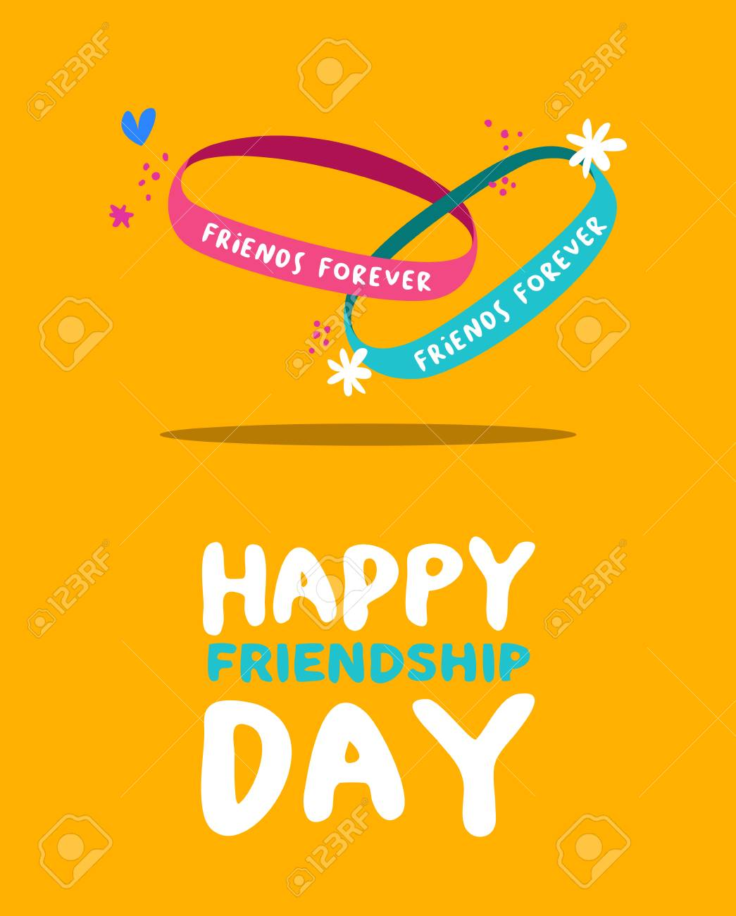 Happy Friendship Day Greeting Card For ...