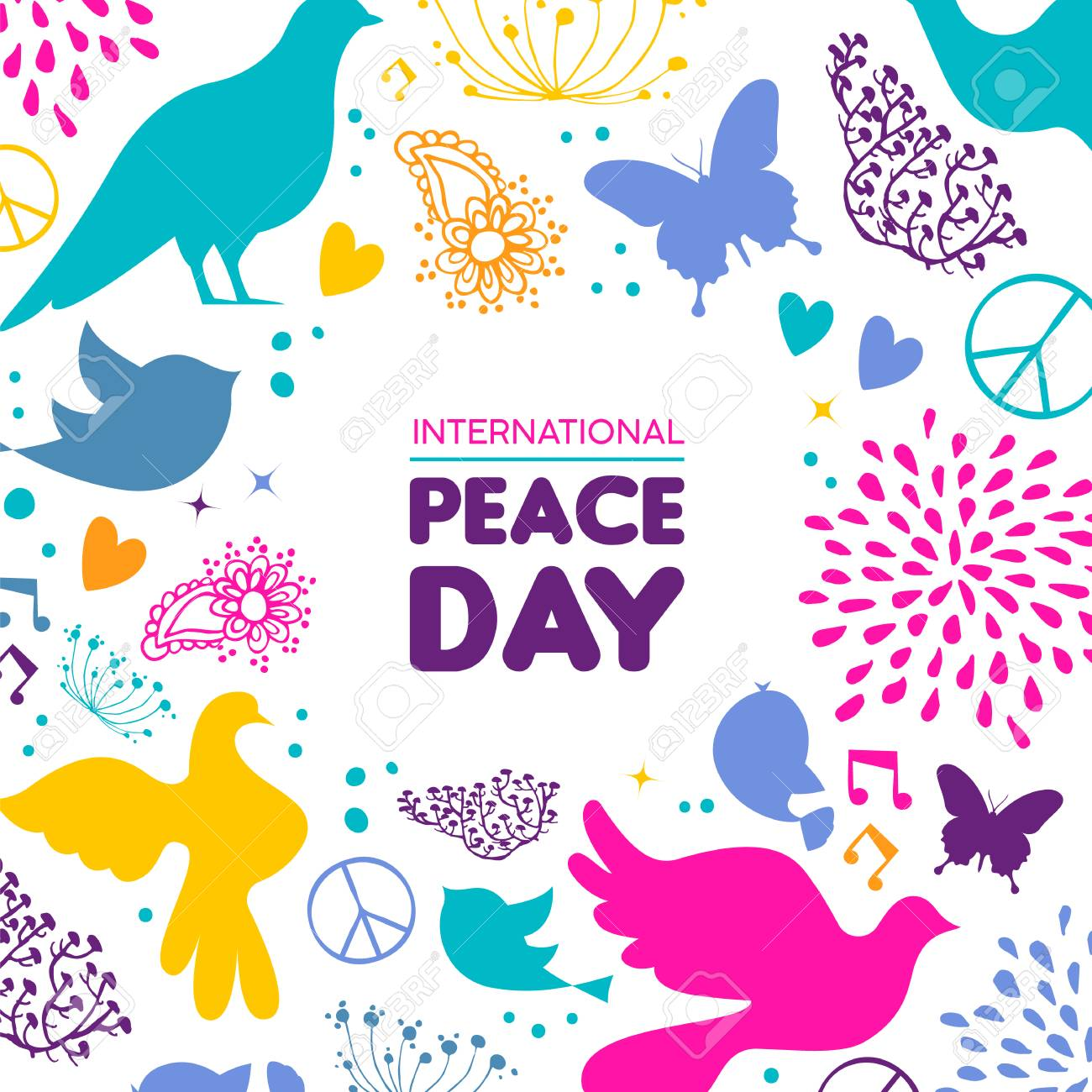 International Peace Day Art Projects