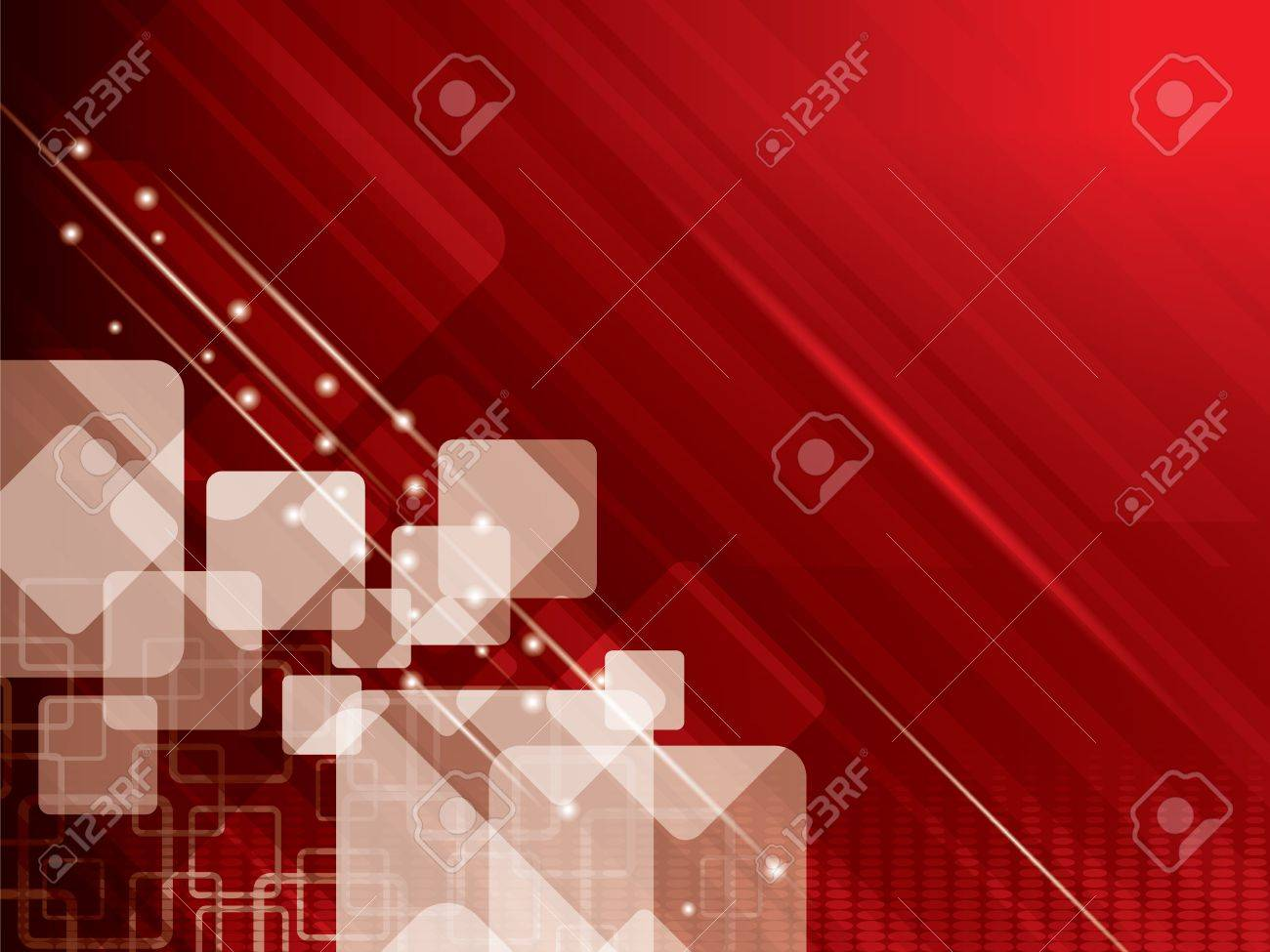 vector illustration abstract background with red Stock Vector - 15700982