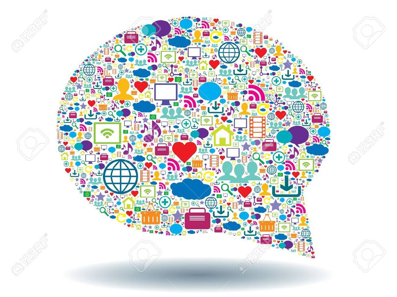 bubble of communication in social network - 20333021
