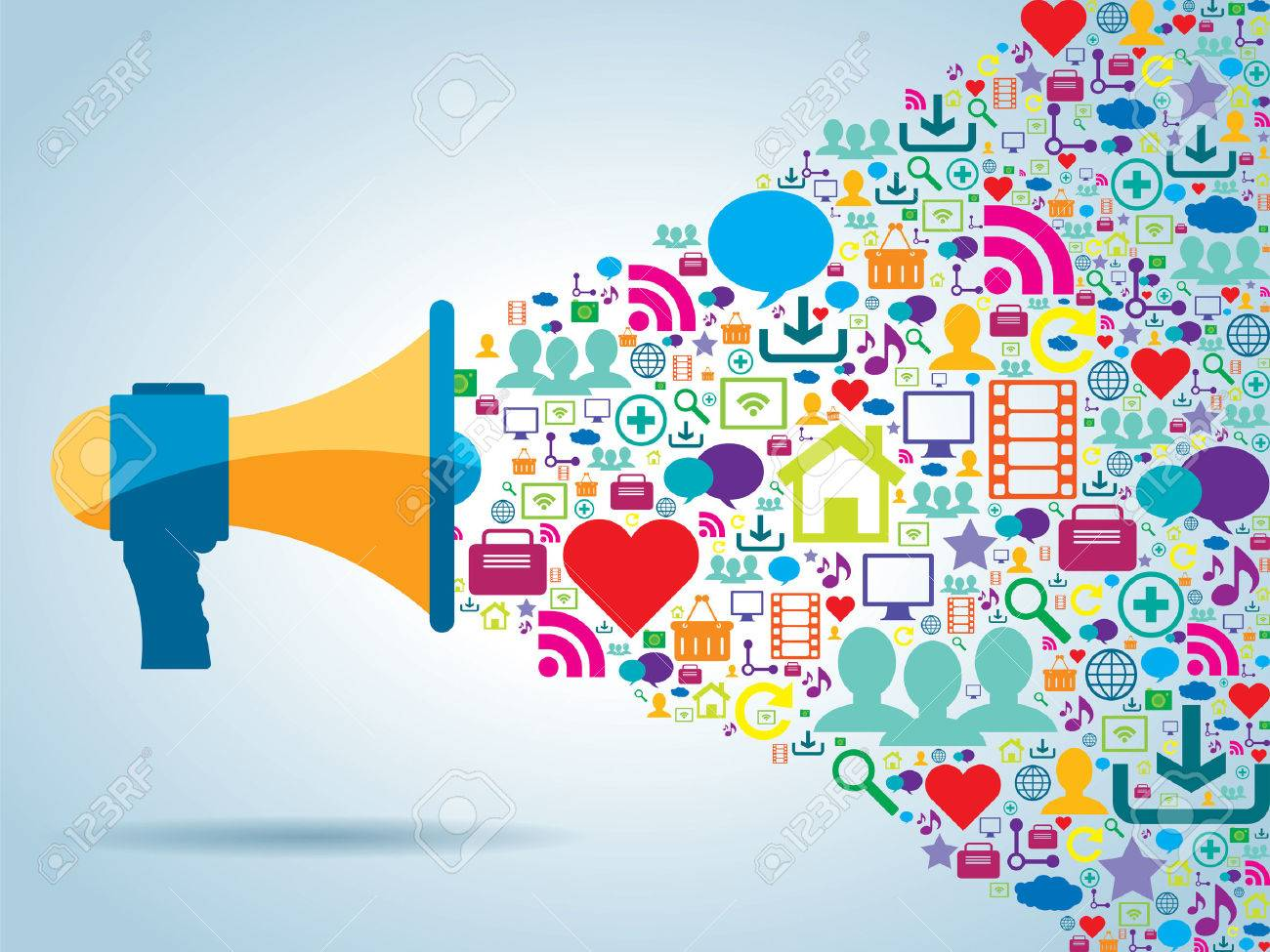 communication and promotion strategy with social media - 31295122