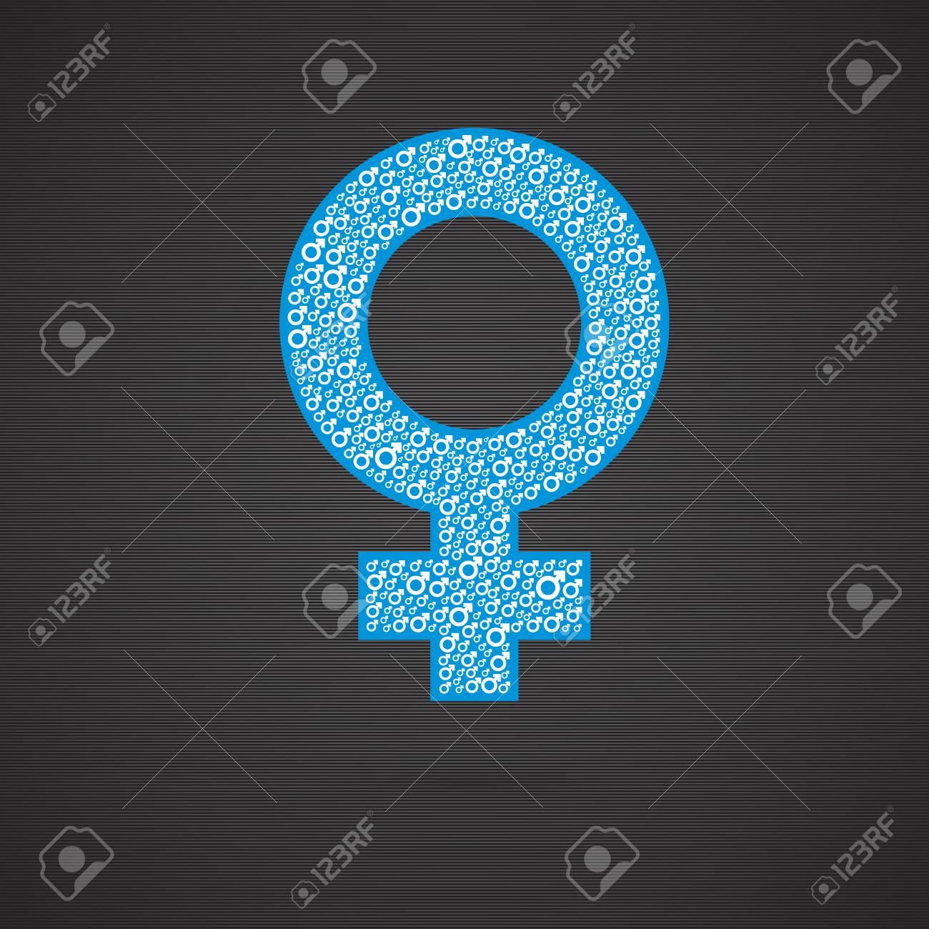 Homosexual Relationship Symbols Of Mars And Venus Representing