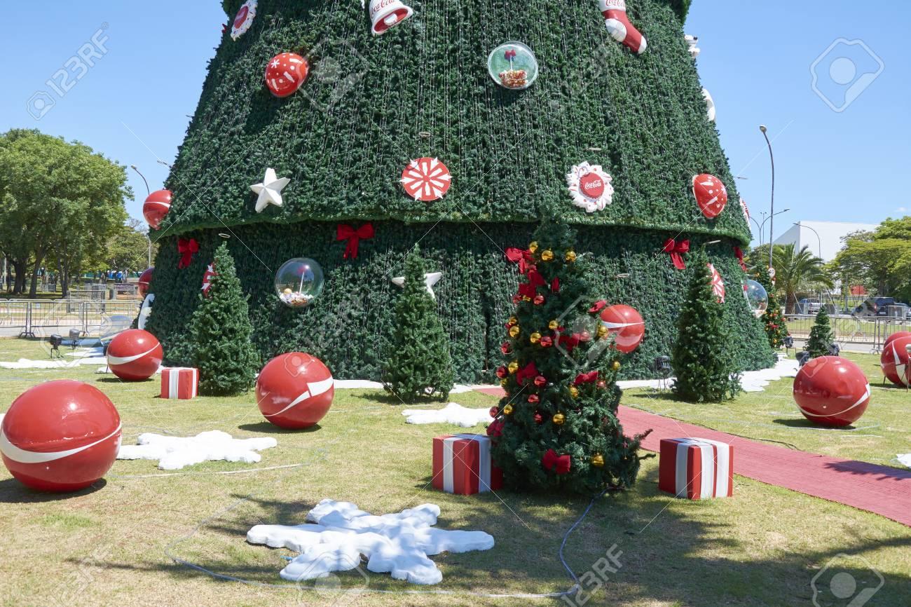 Brazil Christmas Traditions.Sao Paulo Brazil December 6 2016 Detail Of Traditional Christmas