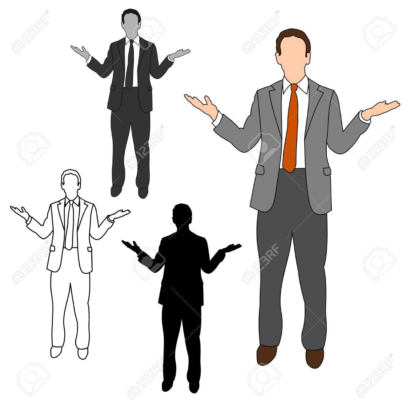 Business Man Style Set 08 Stock Vector - 9721393
