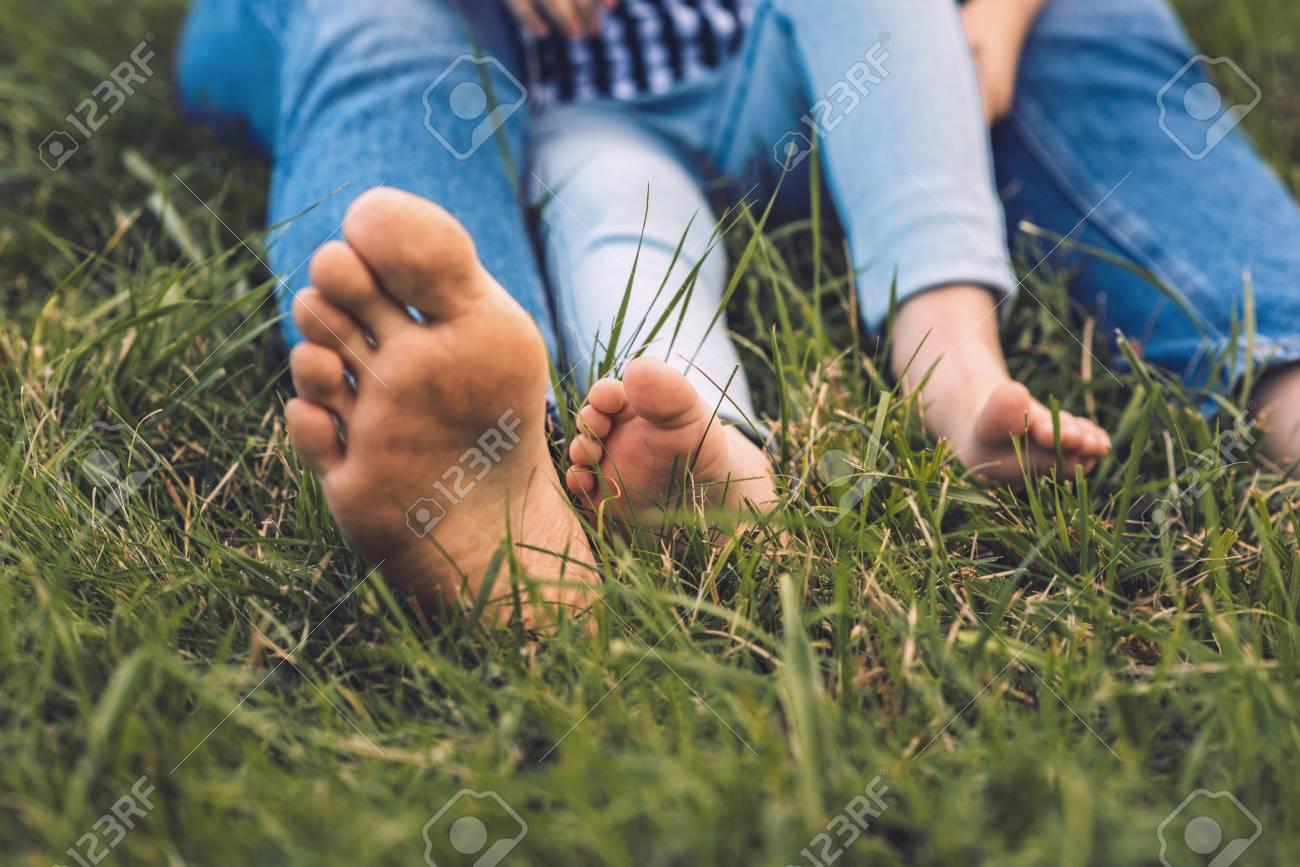 Girls Legs Foot Photo Outdoor