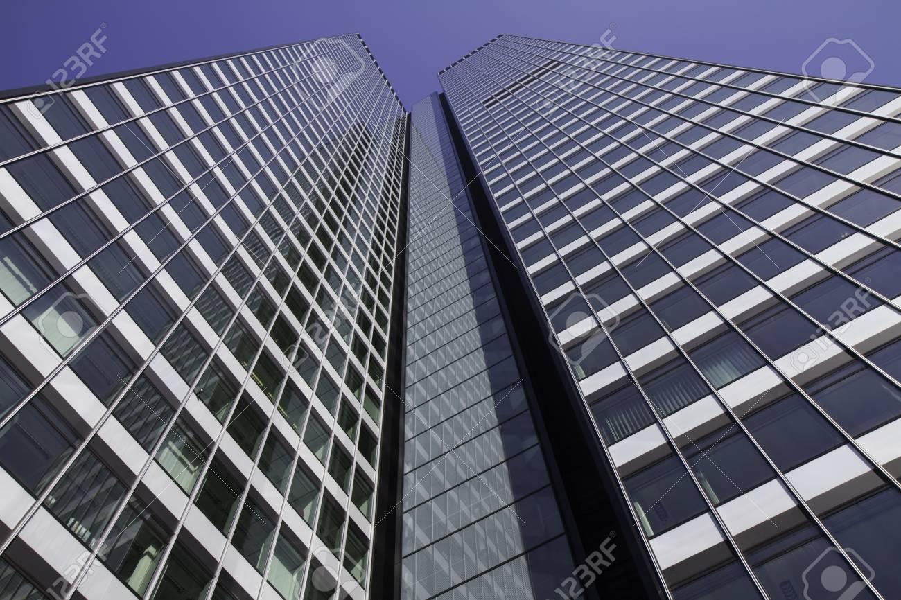 Frankfurt Skyscraper in the financial district, Hessen, Germany Stock Photo - 6681453