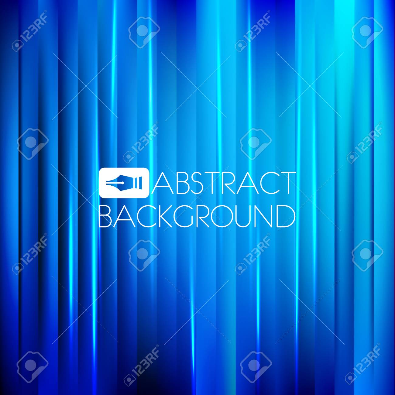 Abstract blue background - 38965724