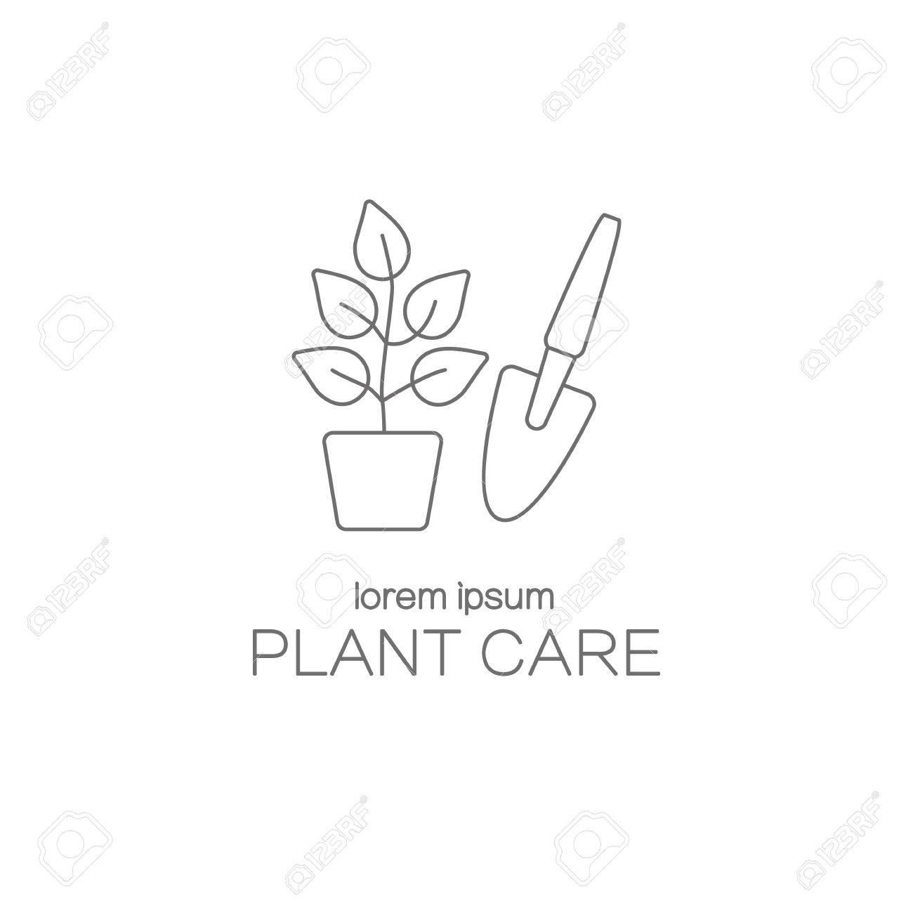 Cuidado De Las Plantas Plantillas De Diseño De Logotipo ...