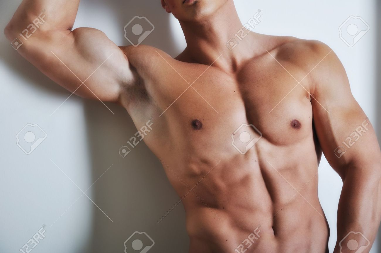 Athletic man with six-pack abs Stock Photo - 6937443