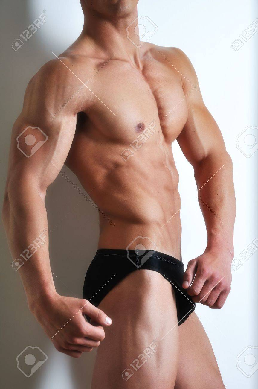 Athletic man with six-pack abs Stock Photo - 6937447