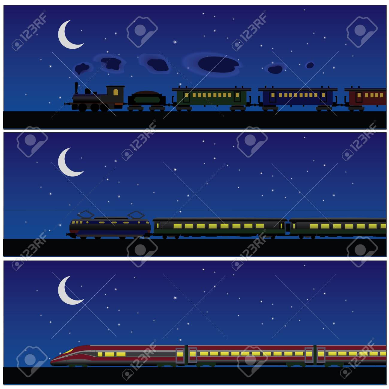 banner train history night - 18295615