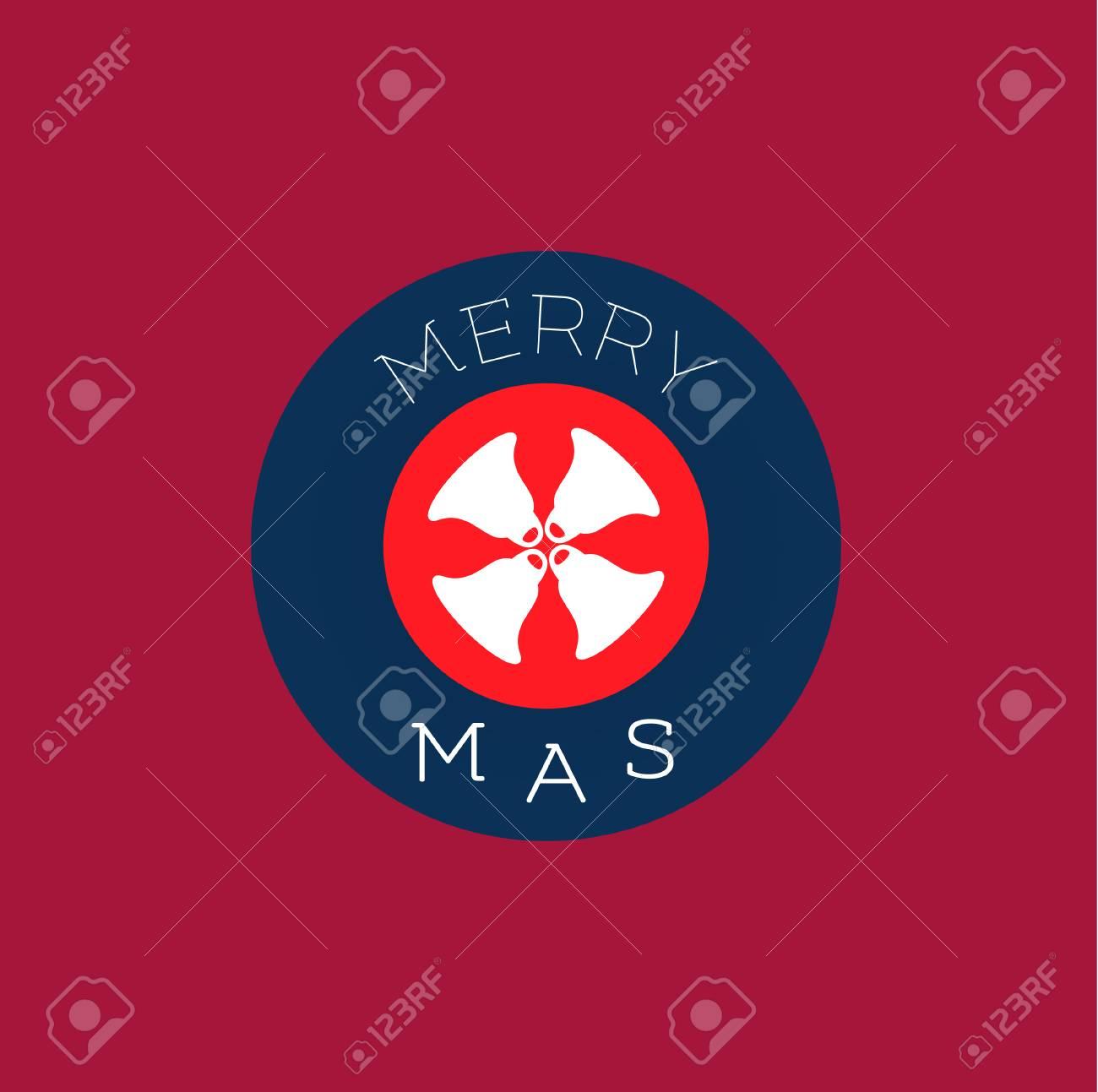Wohnung Symbol Gesetzt, Christmas Bells Design, Fröhlich \