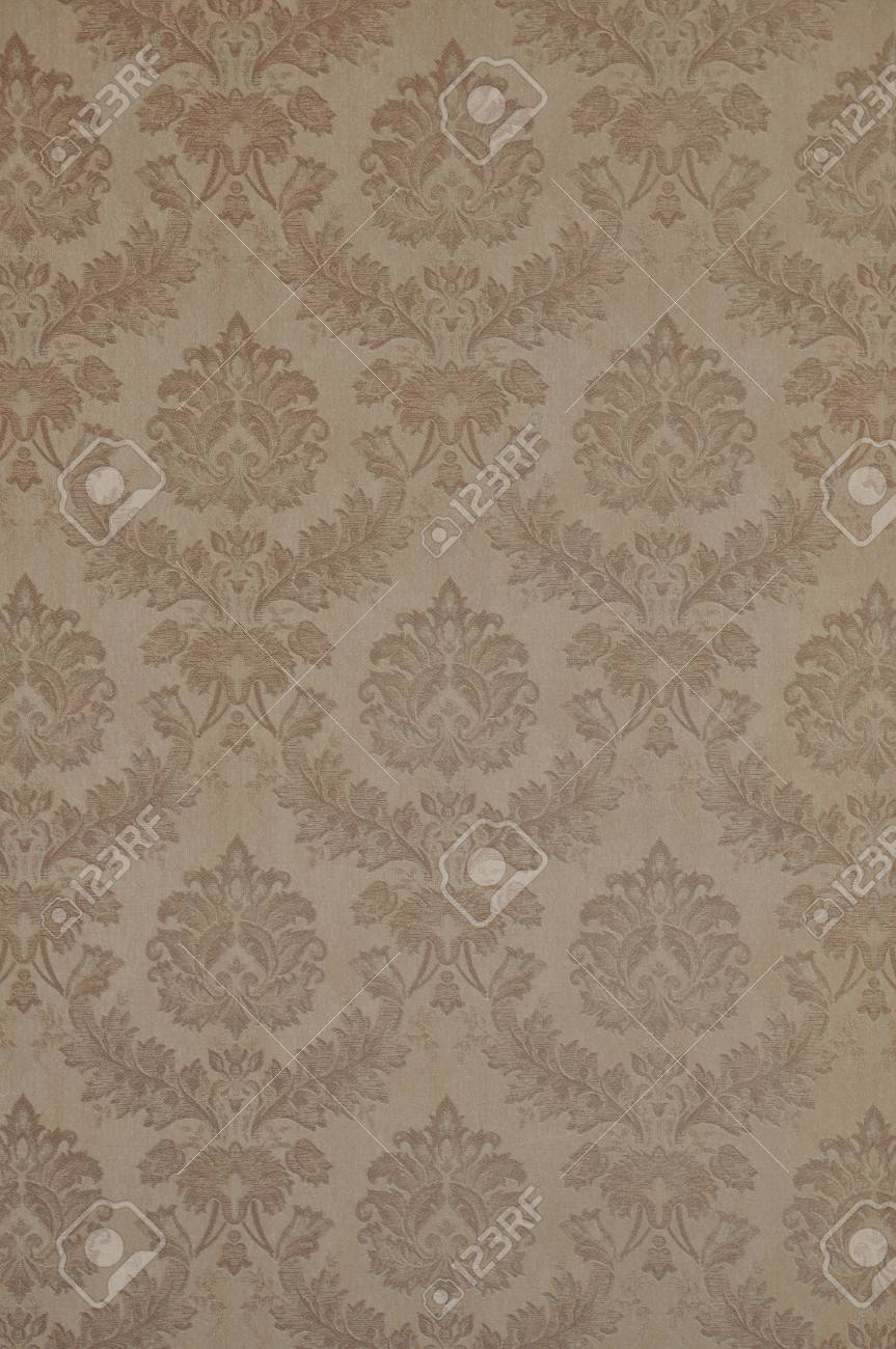 wallpaper with floral ornament Stock Photo - 11307462