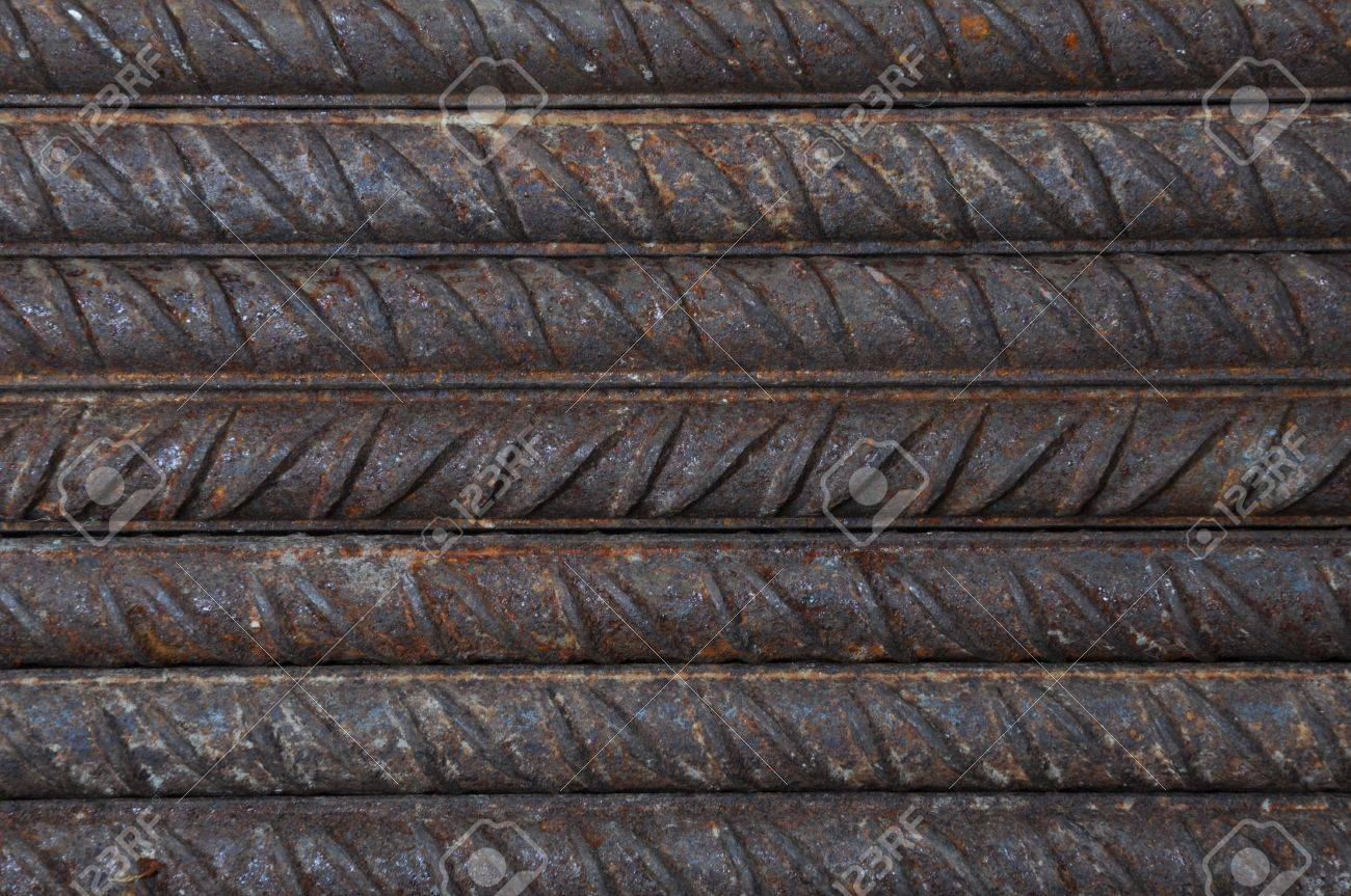 Reinforcing steel base construction industry Stock Photo - 13302238