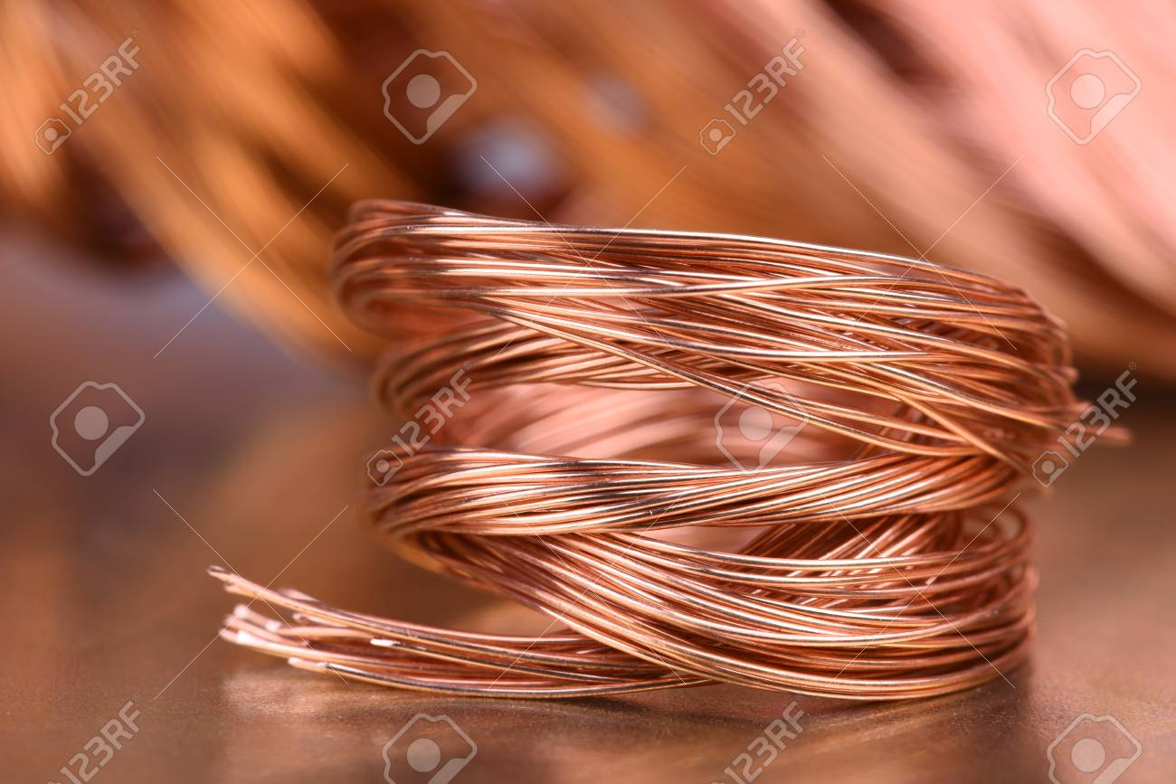 Scrap Copper Wire For Recycling Stock Photo, Picture And Royalty ...