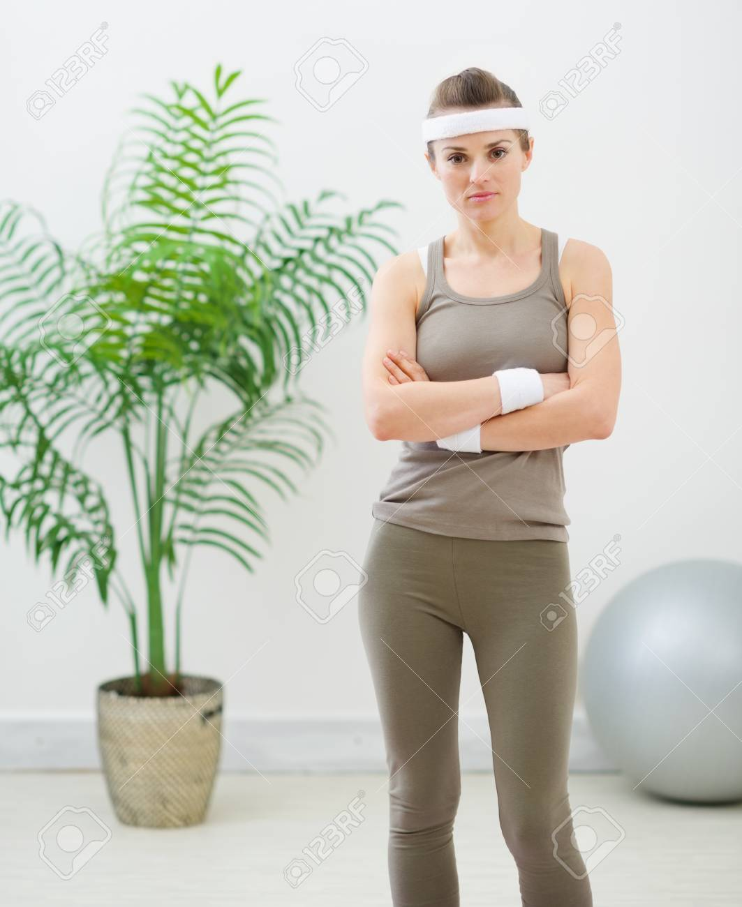 Portrait of fitness woman Stock Photo - 13743427