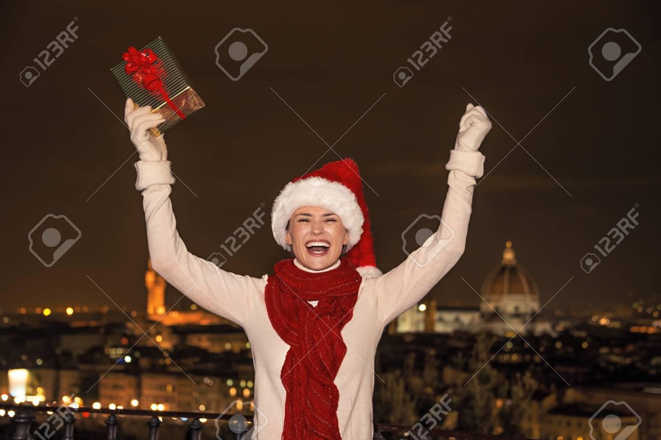 Trip Voller Inspiration In Der Weihnachtszeit In Florenz. Porträt ...