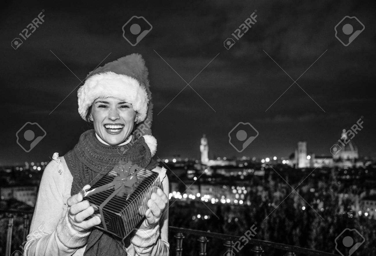Reise Voller Inspiration Zur Weihnachtszeit In Florenz. Portrait Der ...