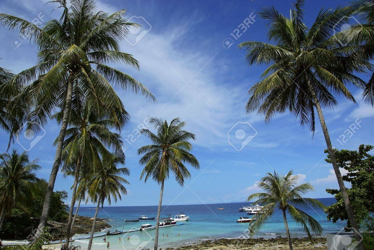 Was taken in richa island of thailand Stock Photo - 10031590
