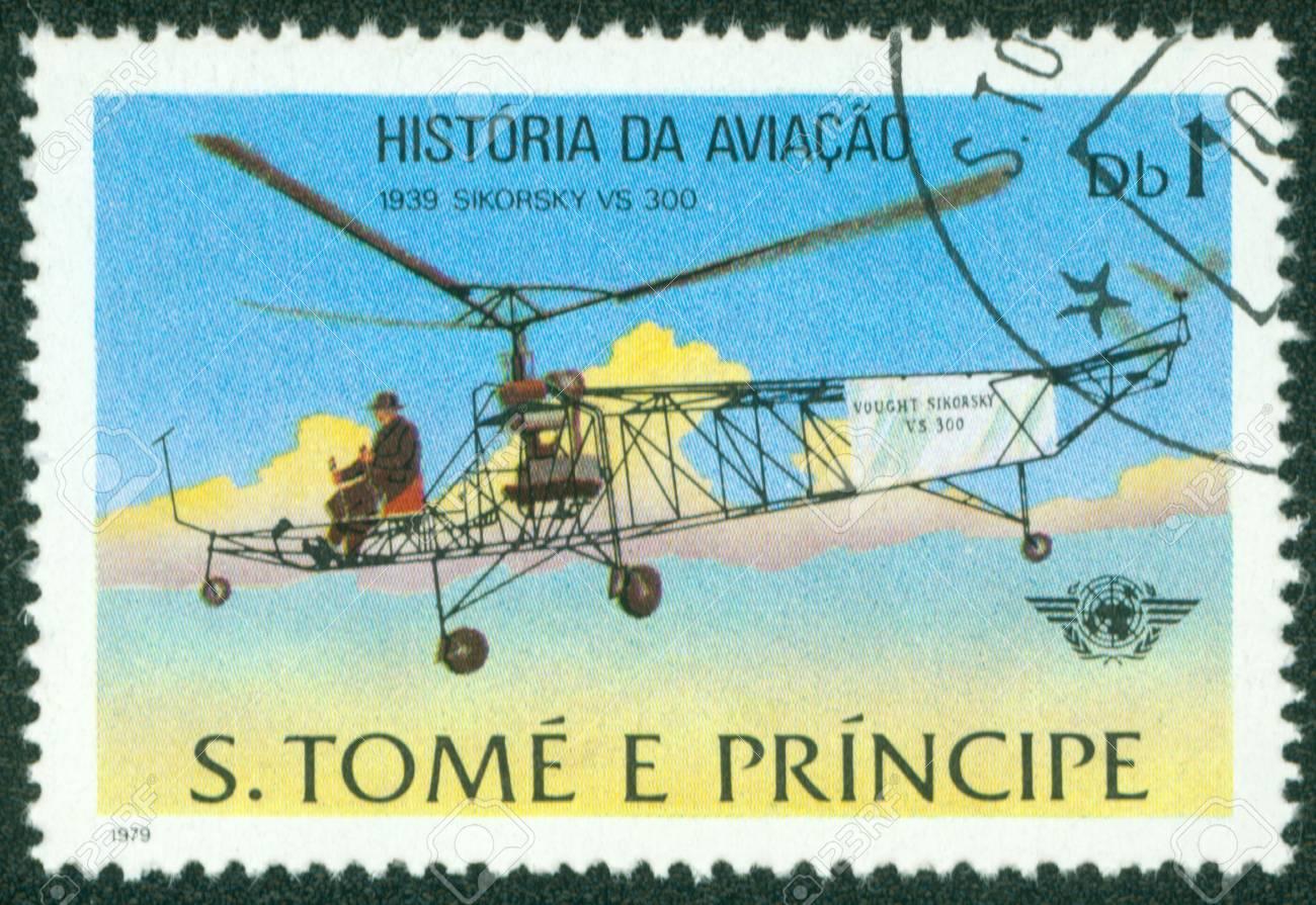 GUINEA - CIRCA 1979  A stamp printed in Republic of GUINEA, shows plane, circa 1979 Stock Photo - 16320981
