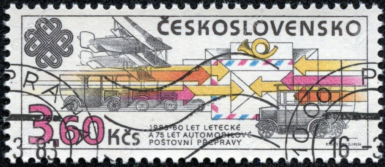 Czechoslovakia Circa 1983 A Stamp Printed In The Czechoslovakia