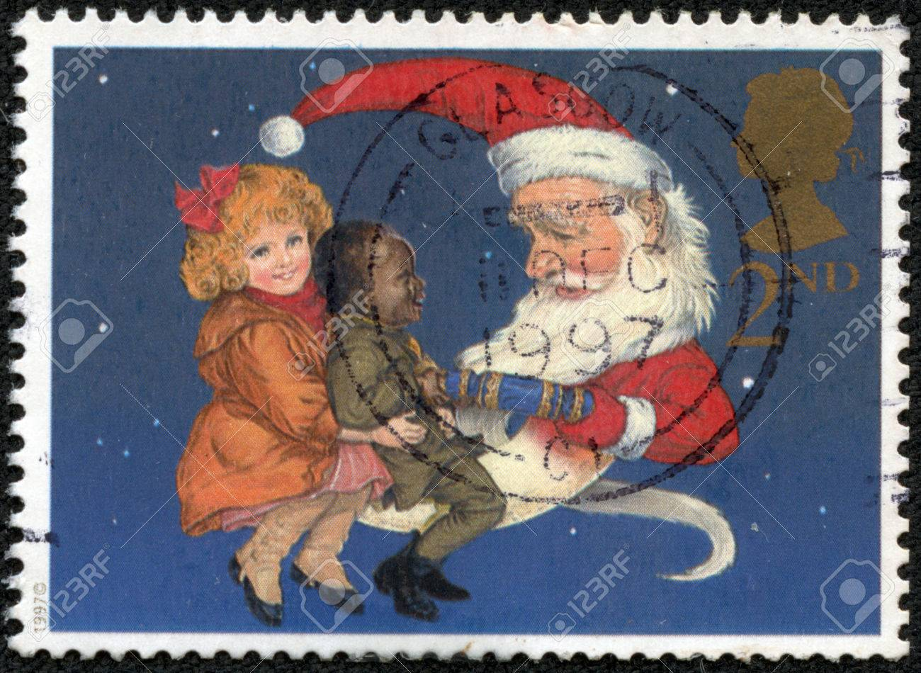 Awe Inspiring Great Britain Circa 1997 A Stamp Printed In The Great Britain Easy Diy Christmas Decorations Tissureus