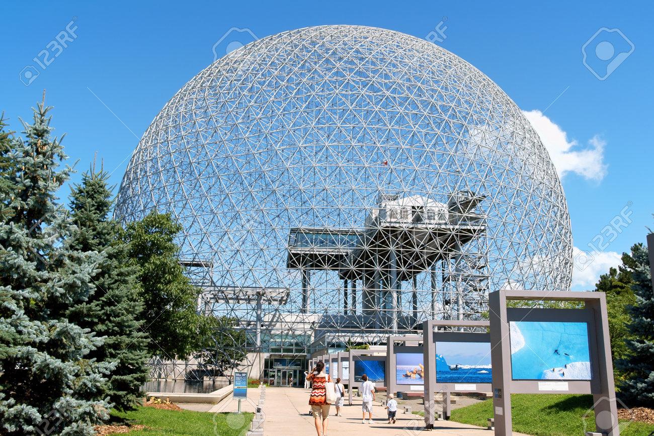 biosphere of montreal stock photos royalty free biosphere of
