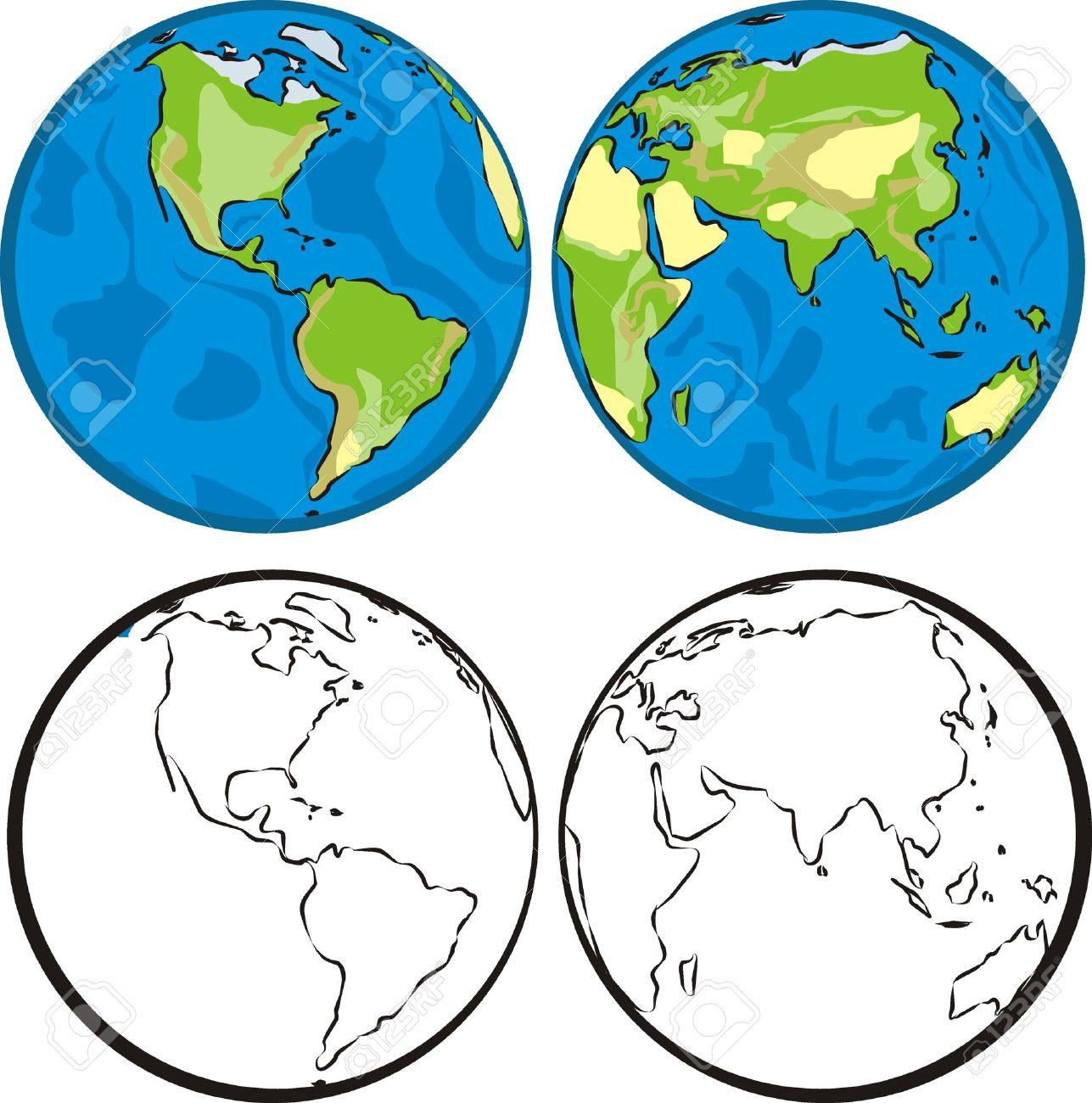 Eastern Hemisphere Globe Western Hemisphere Eastern