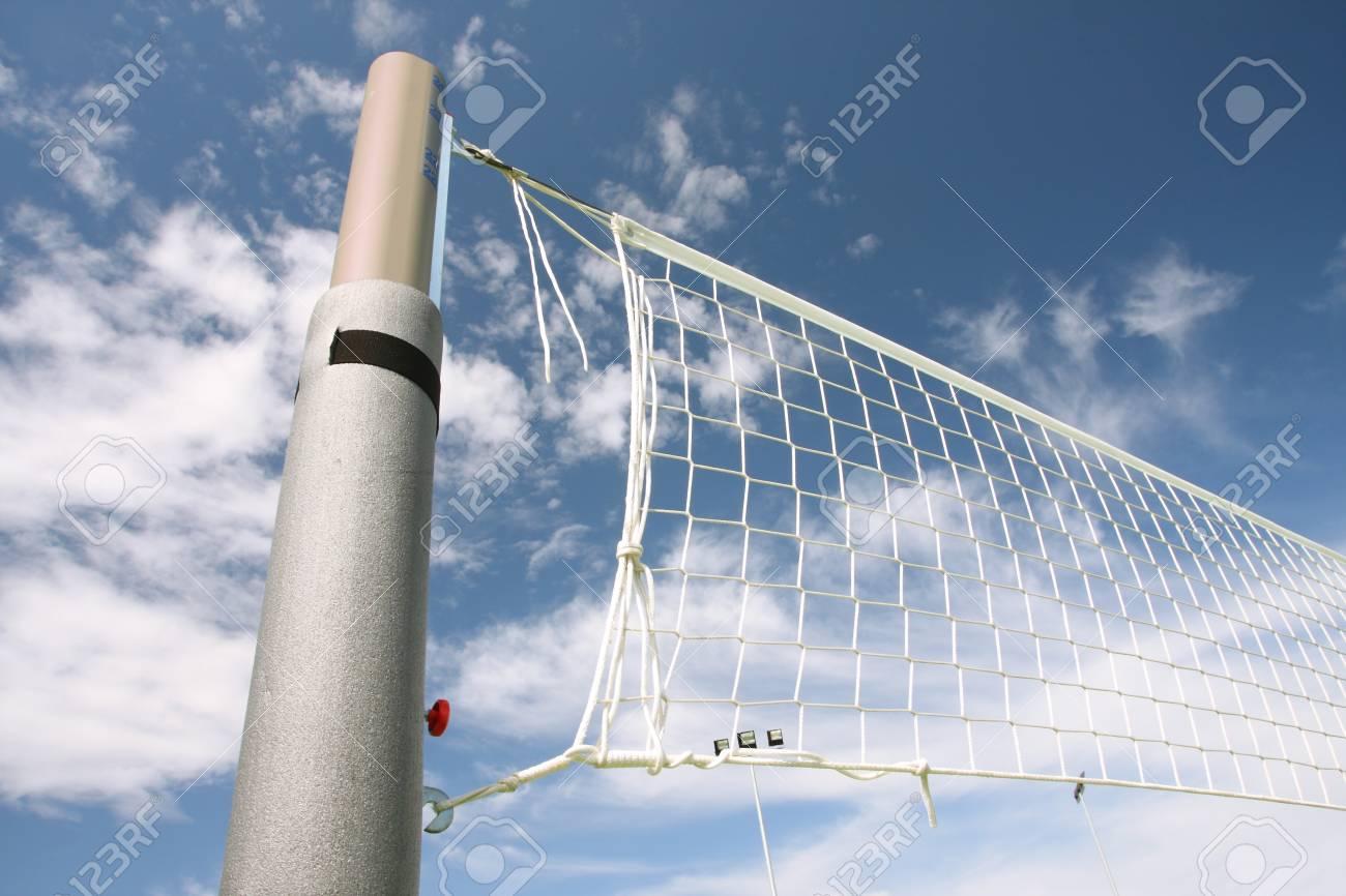 volleyball net Stock Photo - 10648518