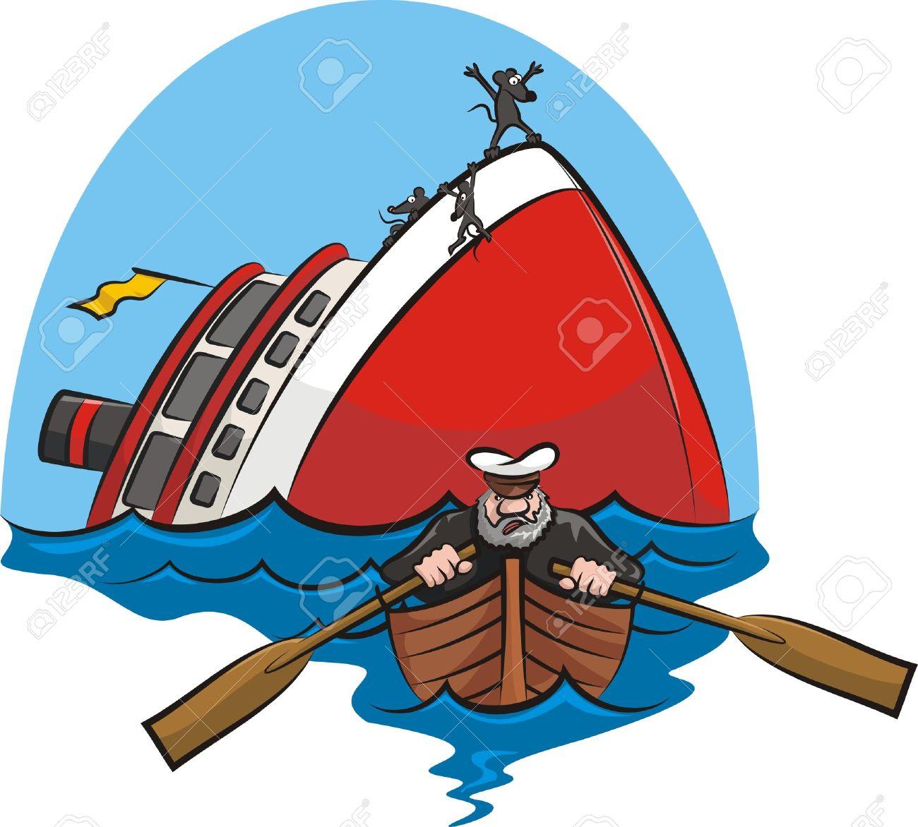 captain coward Stock Vector - 18334719