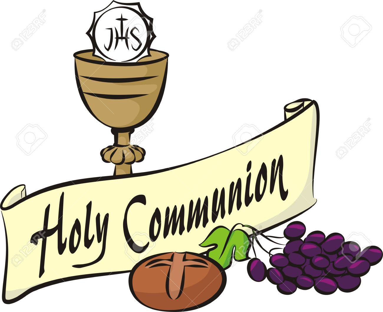 holy communion royalty free cliparts vectors and stock rh 123rf com first holy communion clip art holy communion pictures clip art