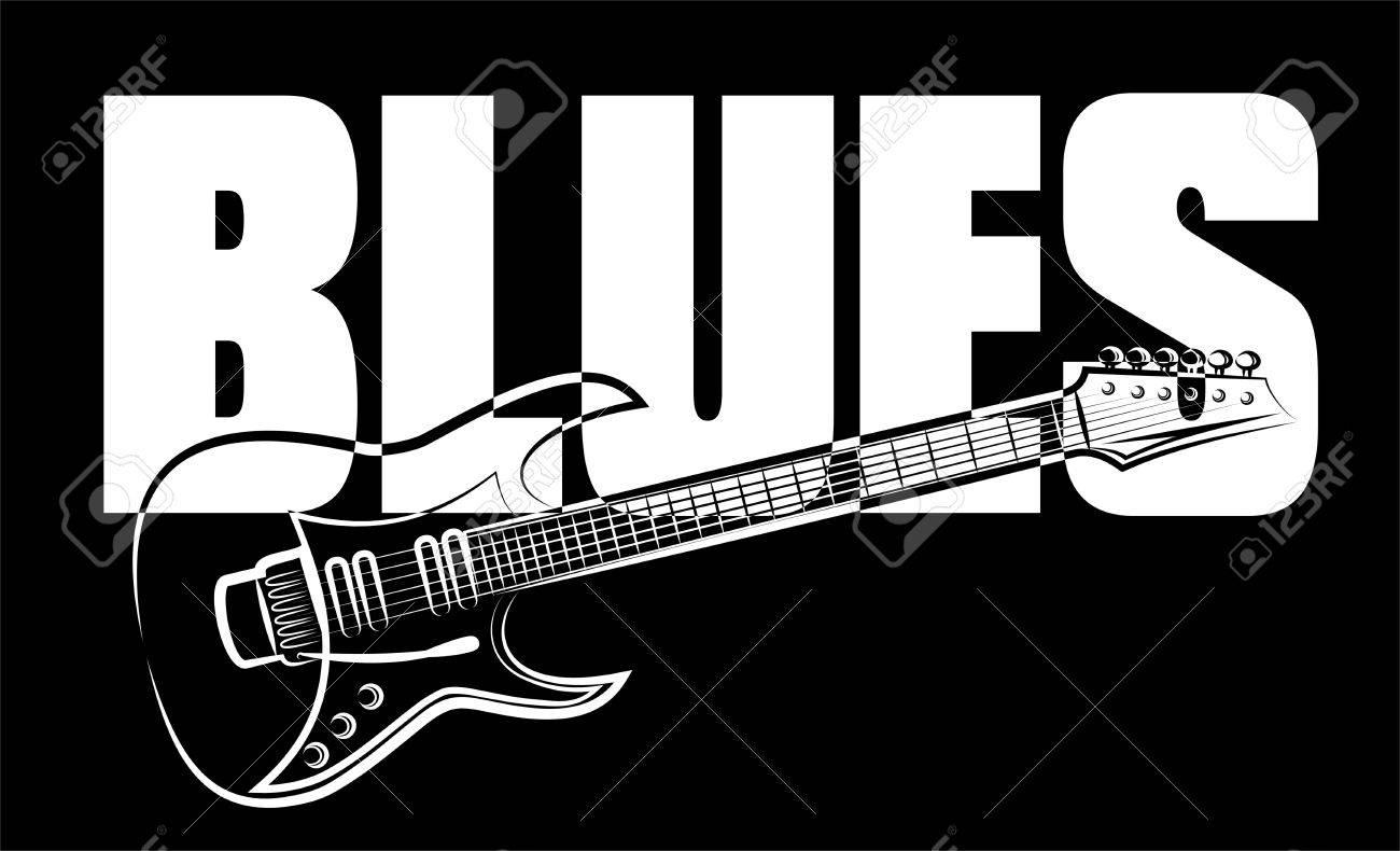 blues guitar - 53160352