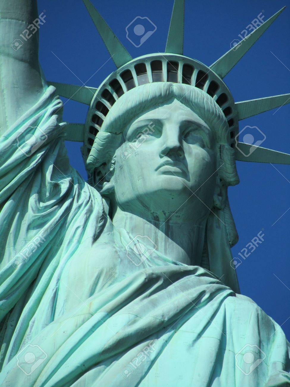 79f62b4f05227 Statue Of Liberty Face Stock Photo, Picture And Royalty Free Image ...
