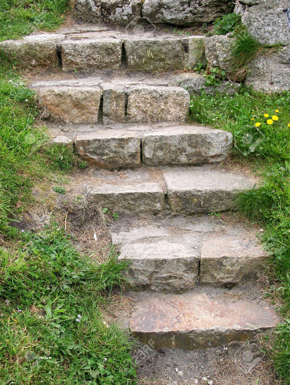 stone stairs Stock Photo - 393019