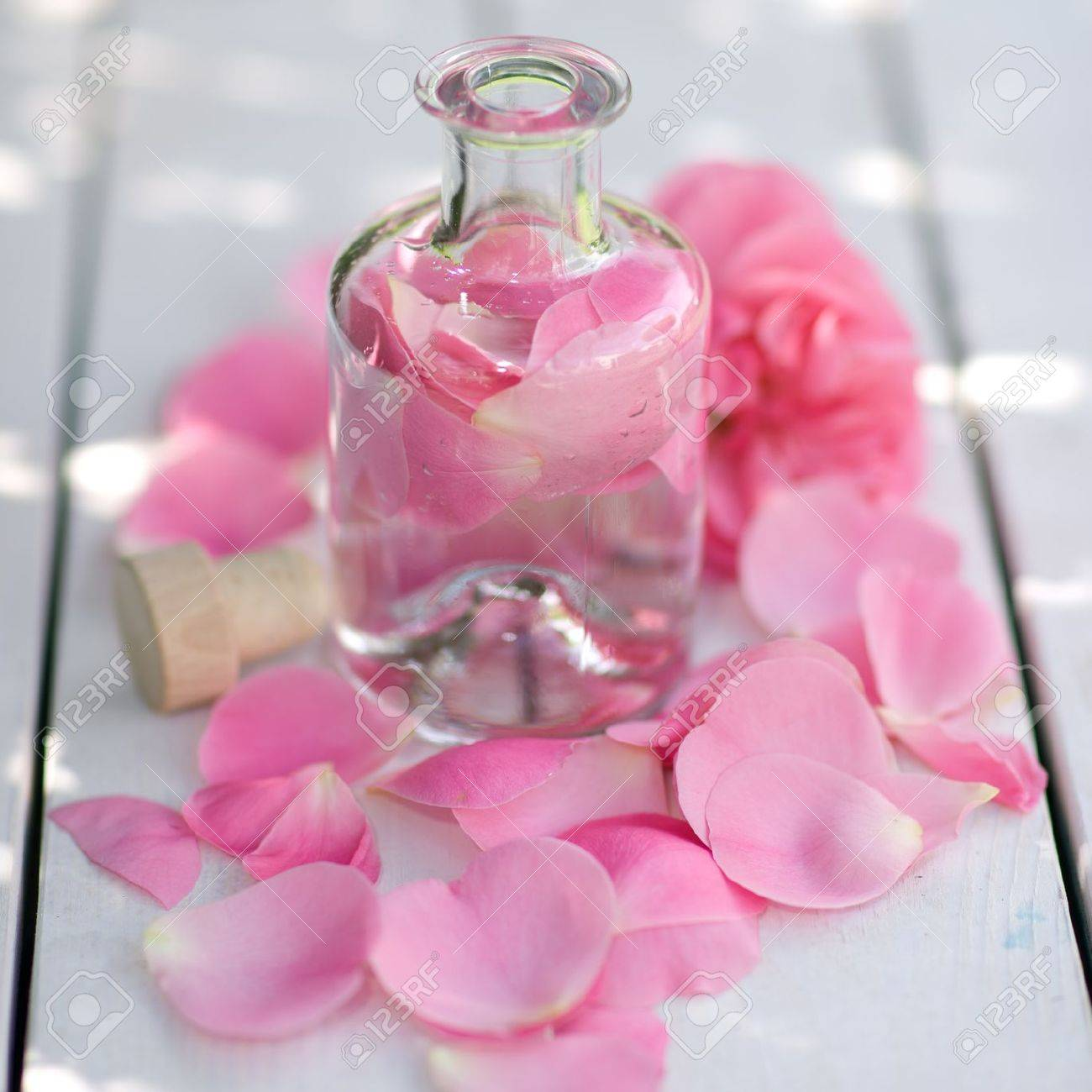 Rose oil Stock Photo - 14929930