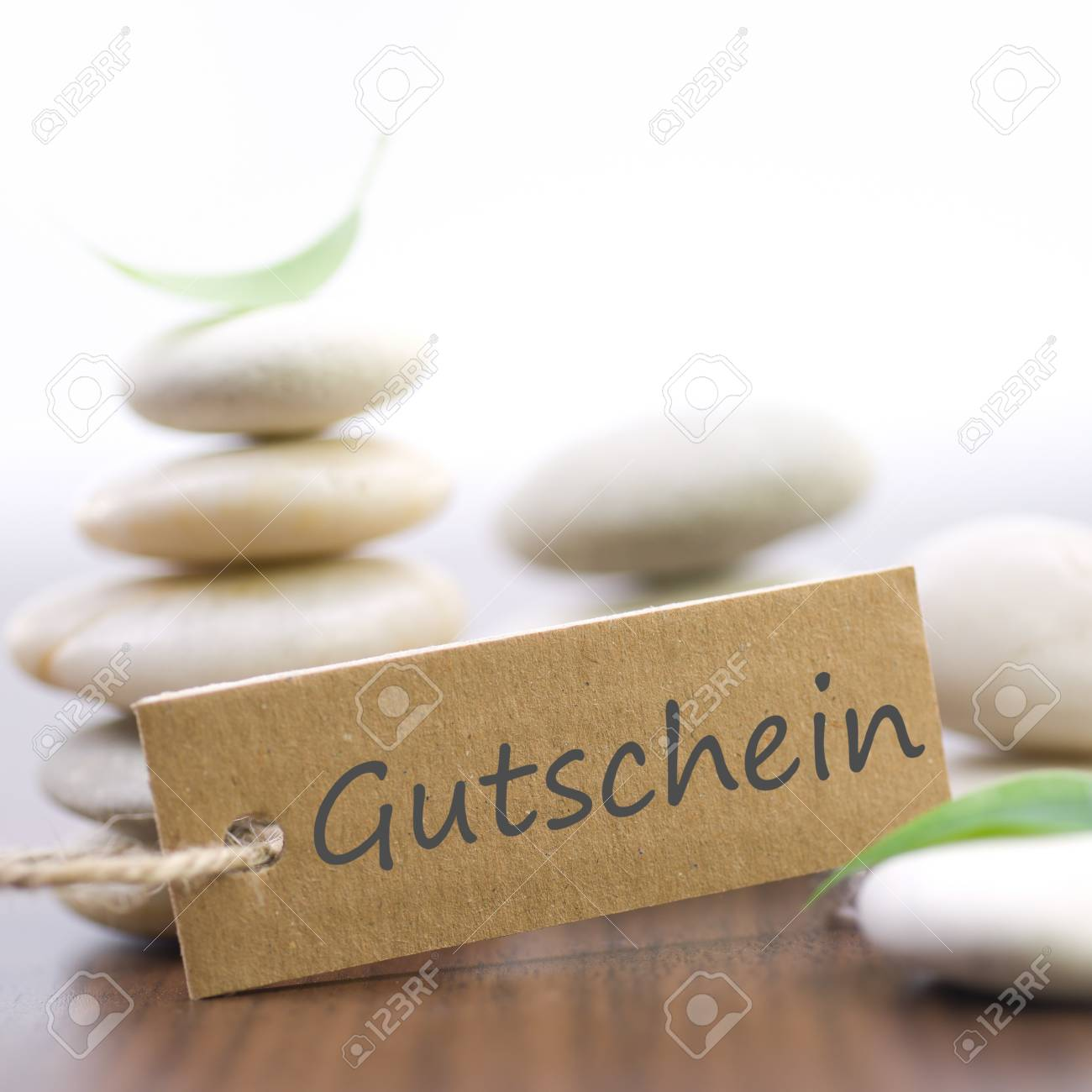 Description field with german text  Coupon Stock Photo - 17476084