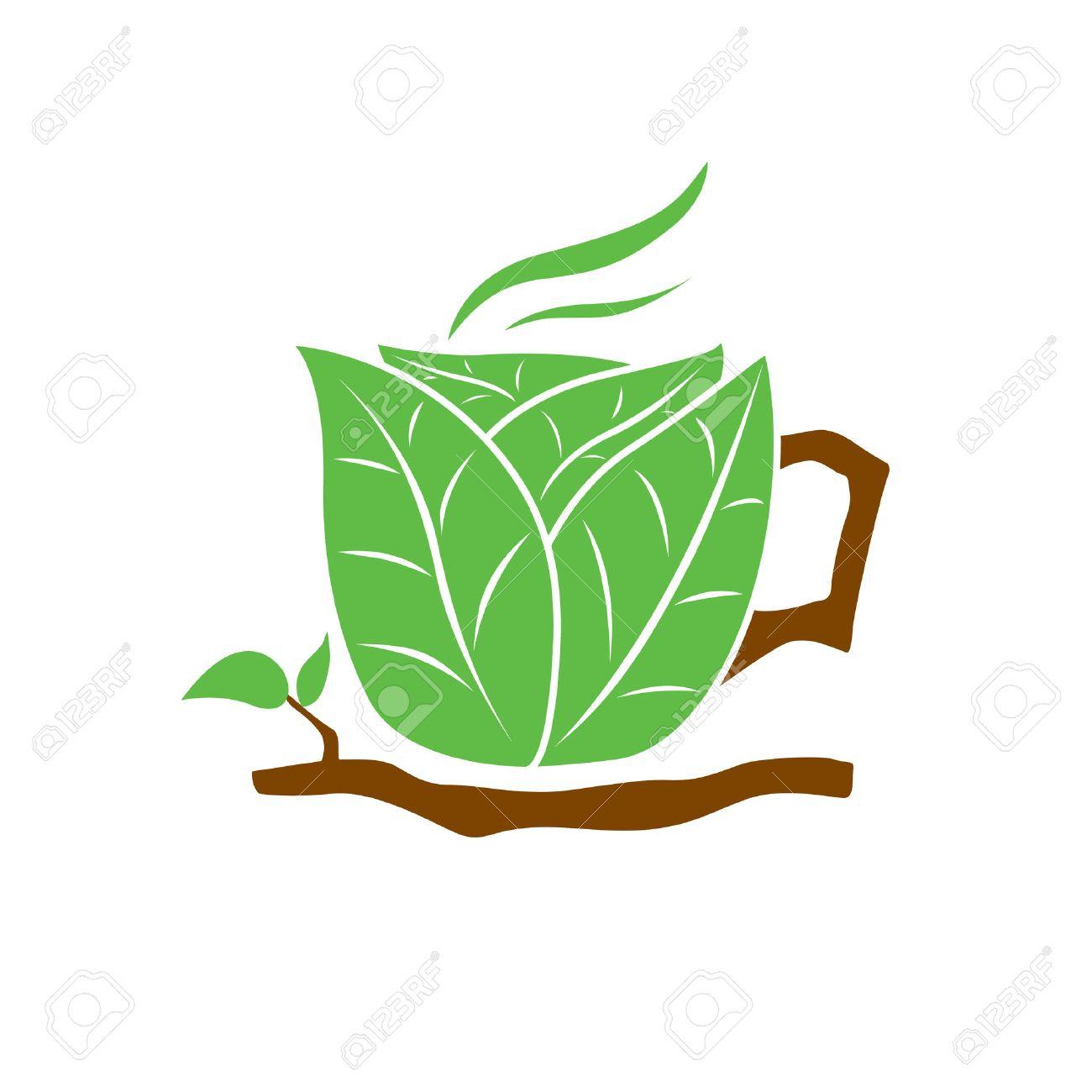 Coffee organic tea - Organic Tea Cup Stock Vector 6098412