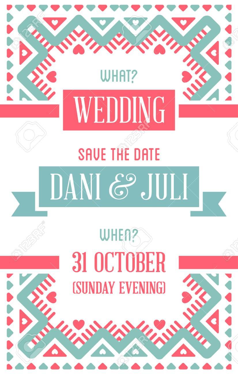 Entwurfs-ehrfürchtige Hochzeits-Einladungs-Schablone Mit Mandala ...
