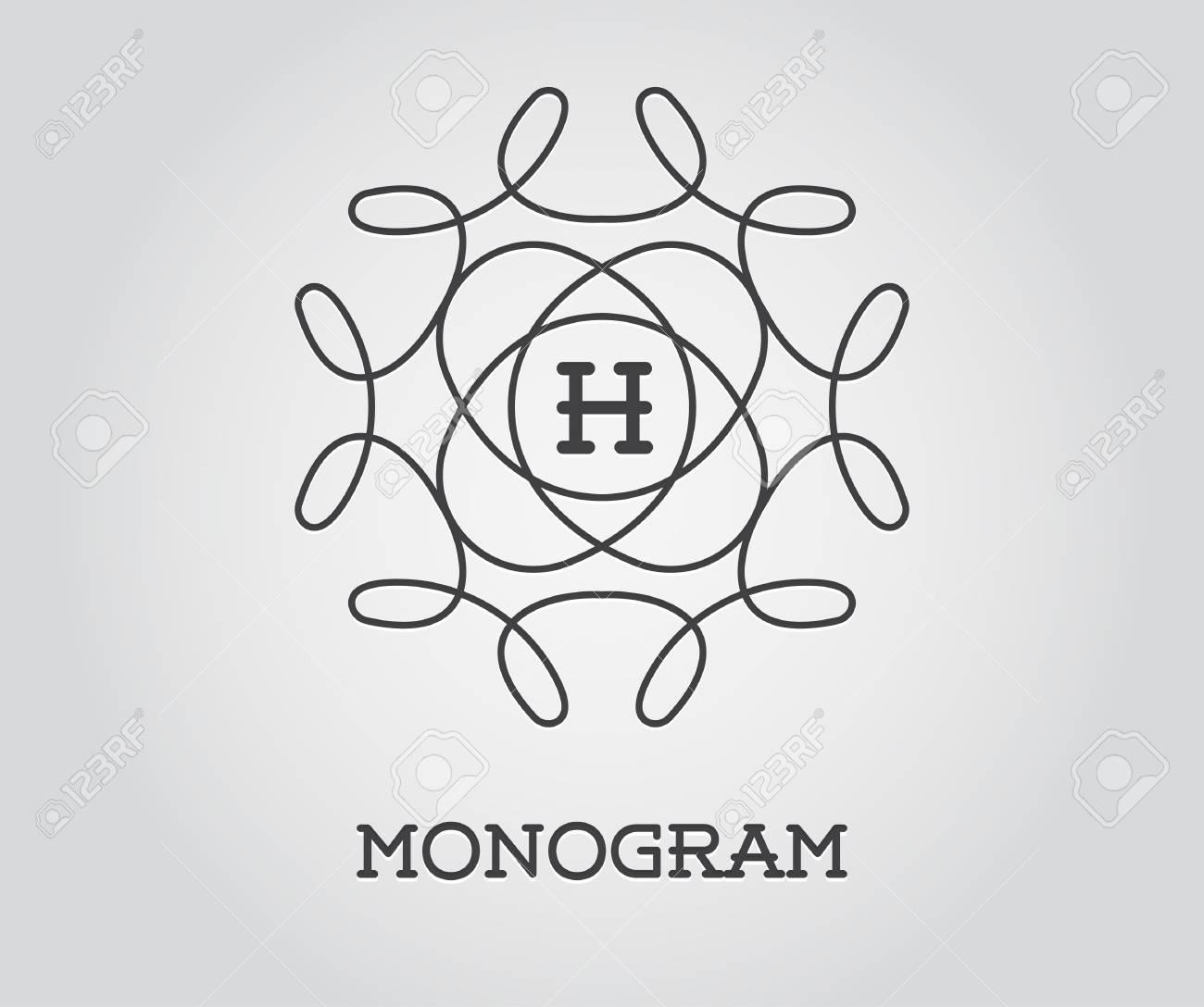 Groß Hochzeits Monogramm Design Vorlagen Ideen ...