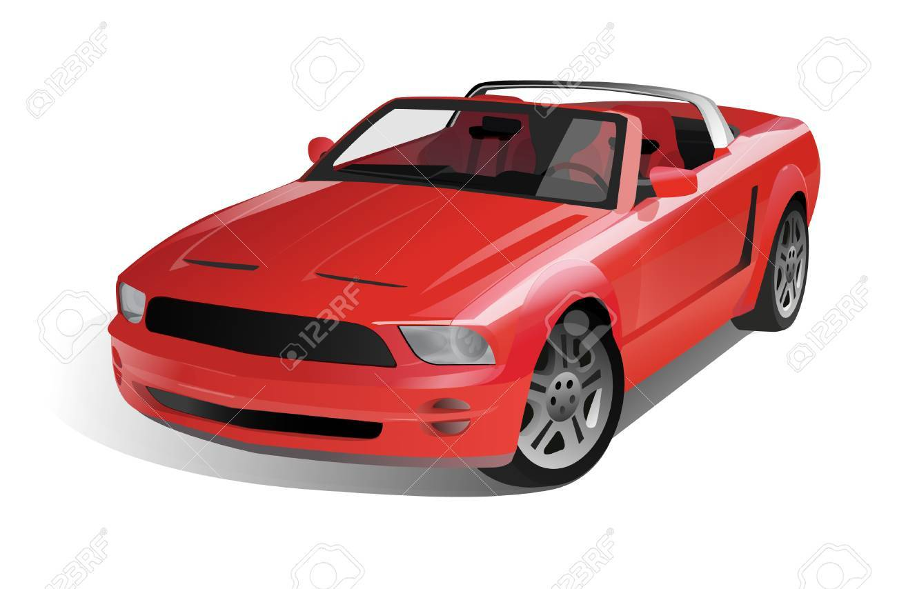 Sports Muscle Car - 50179151