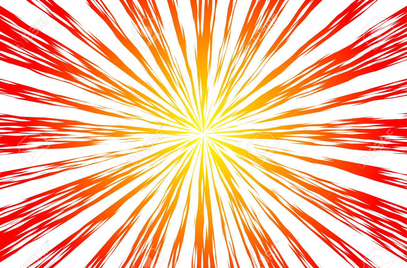 sun rays or explosion boom for comic books radial background