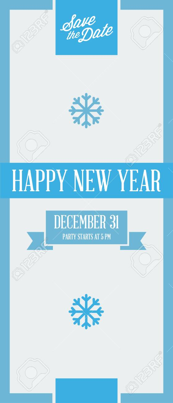Christmas Save The Date Graphics.Vector Happy New Year Or Merry Christmas Theme Save The Date
