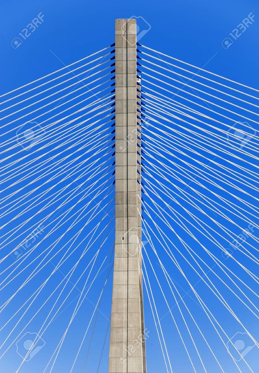 Vasco De Gama bridge in Lisbon city Stock Photo - 10304367