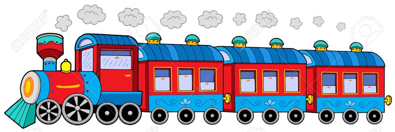 Znalezione obrazy dla zapytania lokomotywa z wagonami rysunek