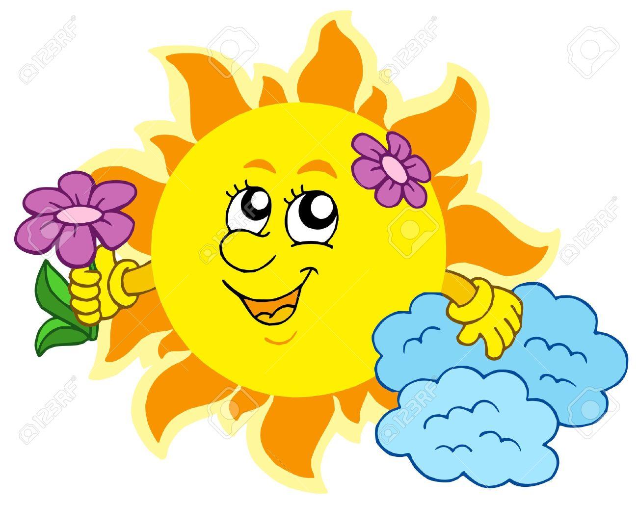 Spring Sunshine Clip Art
