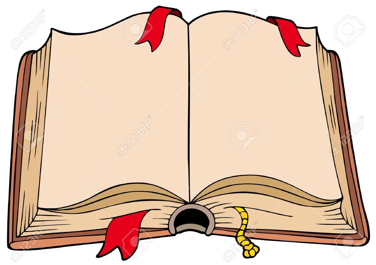 Aufgeschlagenes buch clipart  Aufgeschlagenes Buch Lizenzfreie Vektorgrafiken Kaufen: 123RF